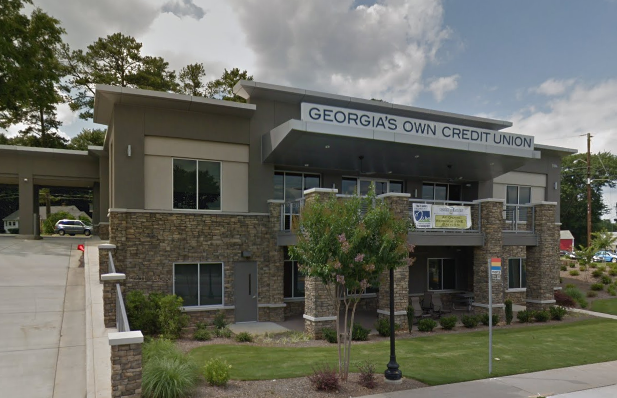 Street view of Georgia's Own Credit Union